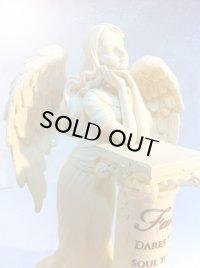 天使の置物L(心)