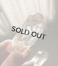 氷のように美しいマニカラン/パールバティーヒマラヤ産水晶(G)