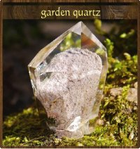 小さな庭園・ガーデン水晶(D)◇