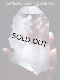 高品質アーカンソー産水晶◇(A')
