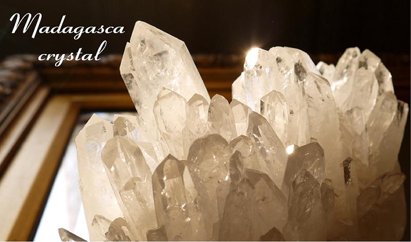 マダガスカル産水晶